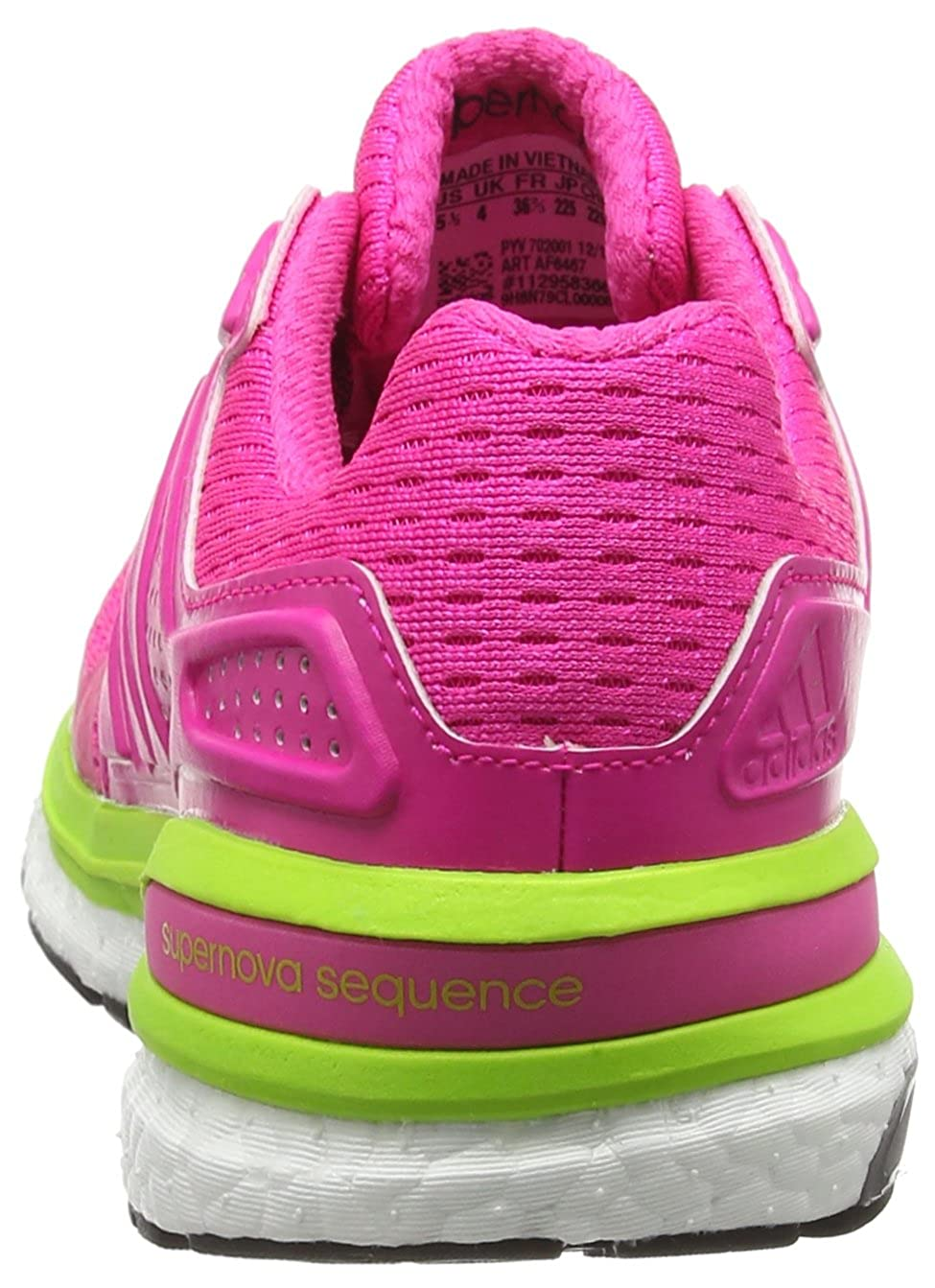 innovative design ef462 24bb7 adidas Women s Supernova Sequence 8 Running Shoes  Amazon.co.uk  Shoes    Bags