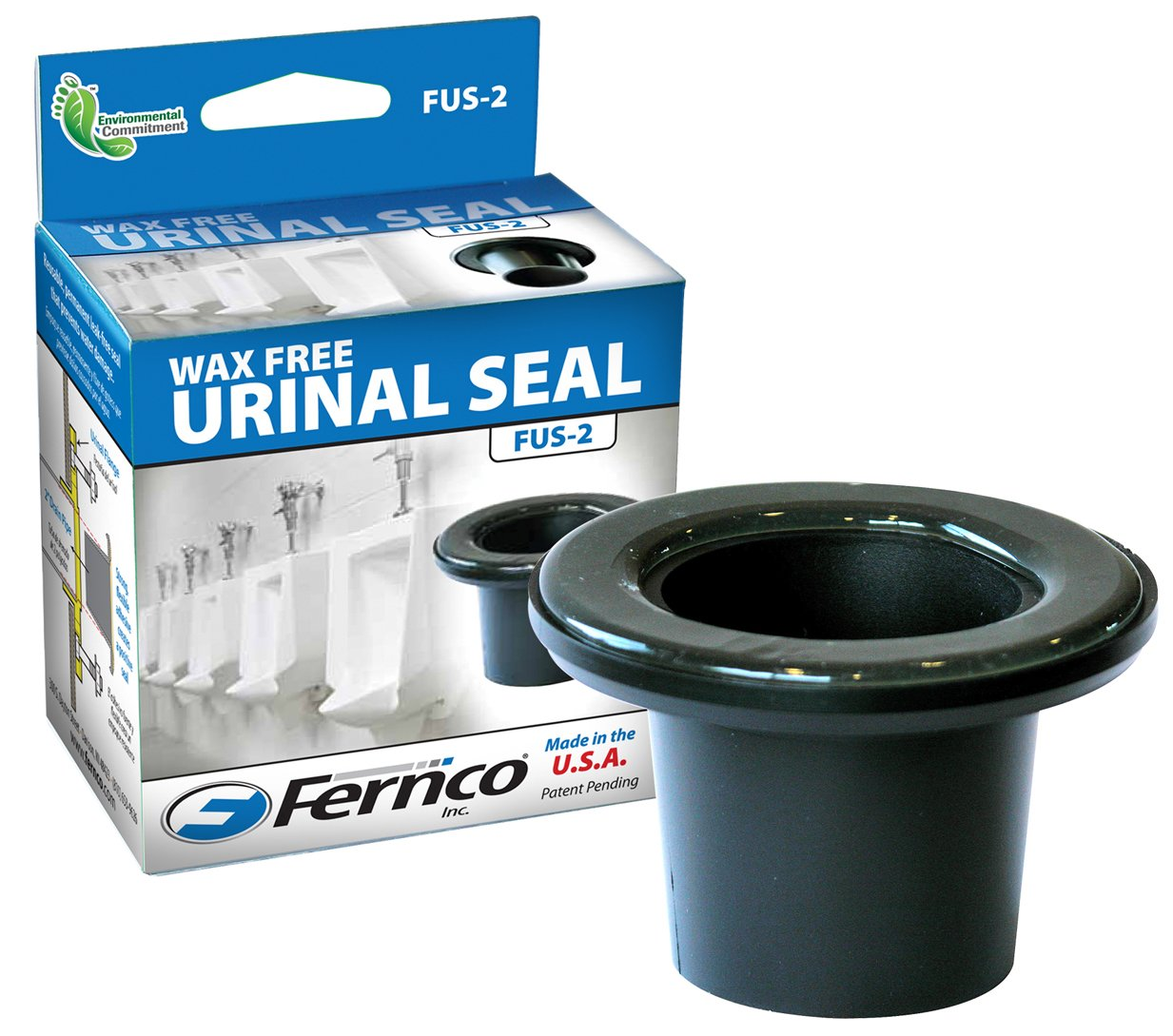 Fernco FUS-2 Wax Free Urinal Seal, Pack of 1