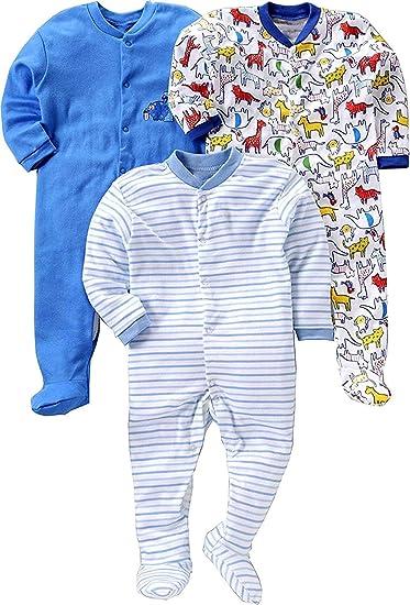 c7087b899 Manan Shopee New Born Baby Multi-Color Long Sleeve Cotton Sleep Suit ...