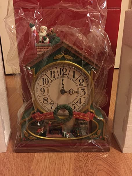 avon countdown musical christmas clock - Musical Christmas Clock