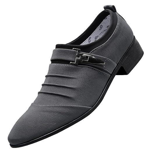 Amazon Hemlock Men Business Shoes Wedding Groom Shoes Office