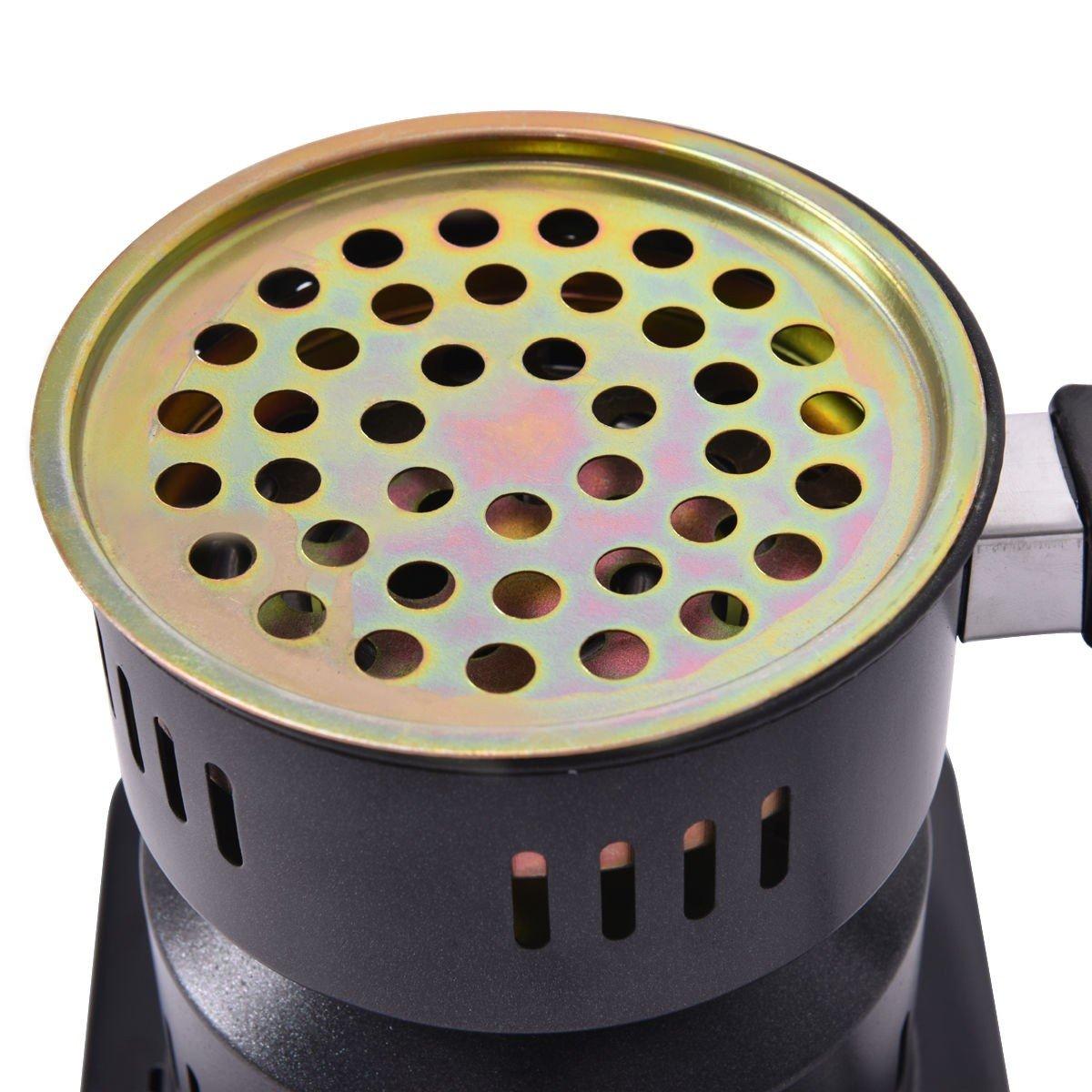 Electric Charcoal Starter Hookah Shisha Nargila Heater Stove Charcoal Burner Costway by COSTWAY (Image #3)