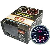 オートゲージ(AUTOGAUGE) SM52水温計 ブラックフェイスホワイトLED ワーニング機能付 52パイ 52AWTSWL270