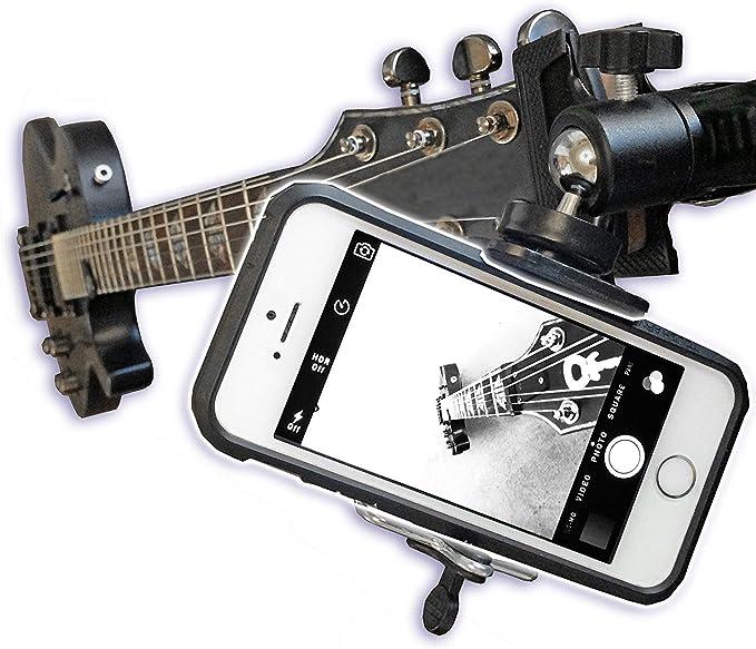 Smartphone Halterung Für Gitarre Ukulele Handys Und Elektronik