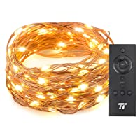 Deals on TaoTronics 33 ft 100 LED String Lights With RF Remote Control