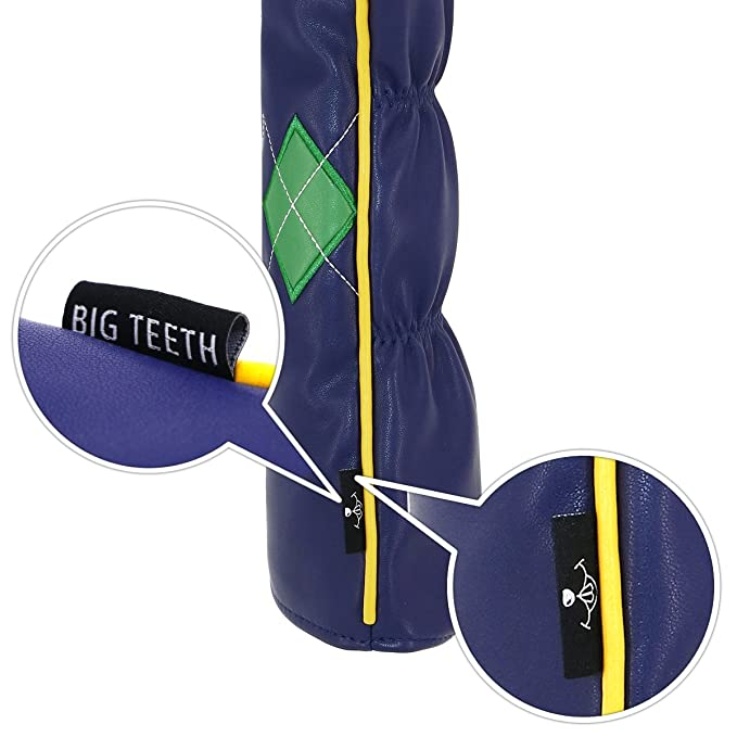 Big dientes de golf cabeza fundas para palos de golf ...