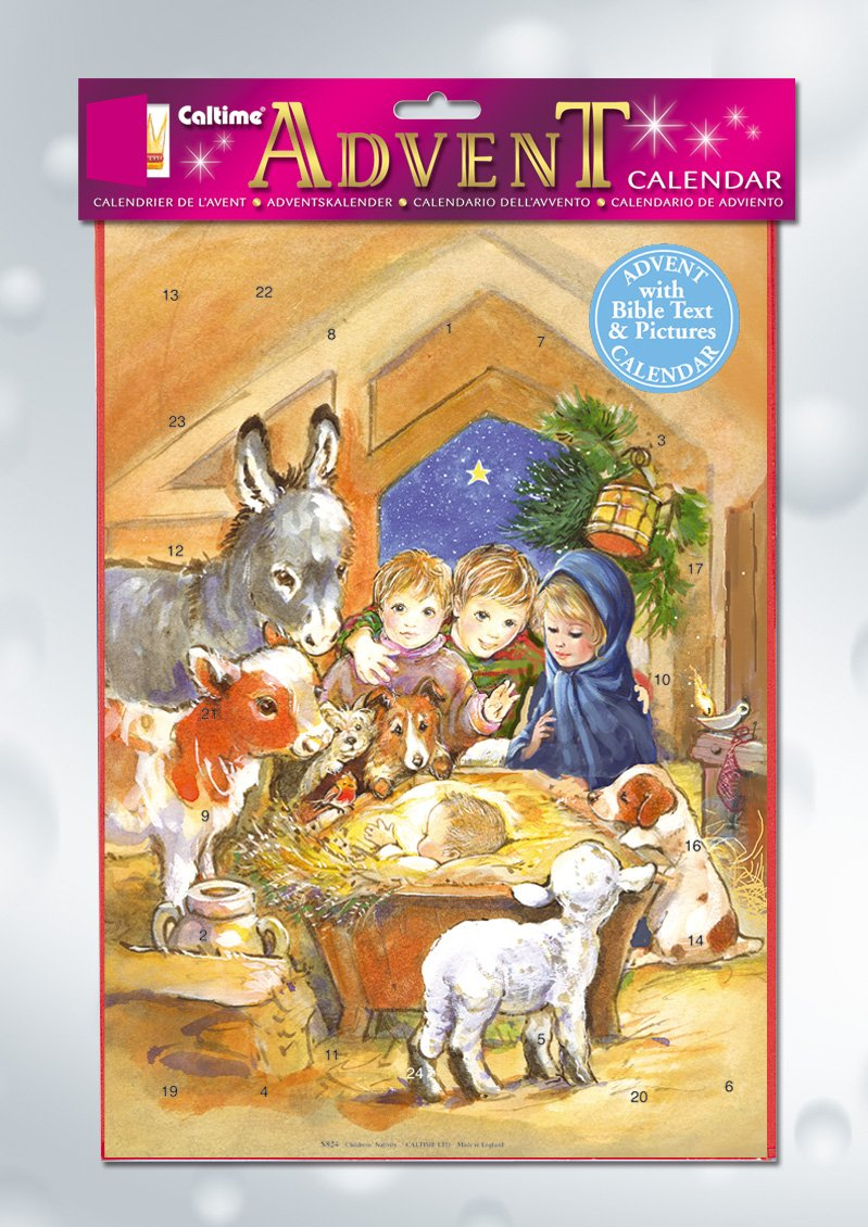 Children's Nativity Advent Calendar Children' s Nativity Advent Calendar Morehouse Church Supplies Calendars & Diaries Holidays - Christmas & Advent