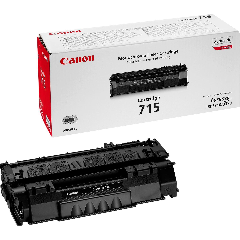 Canon 715 - Tóner para impresoras láser (3500 páginas, Laser ...