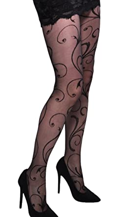 e4788f855a5 Wonderful patterned tights Secession by Adrian 20 denier  Amazon.co ...