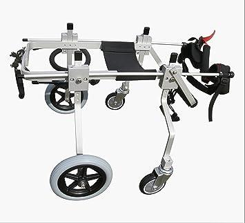 Silla de Ruedas - Quad 4 ruedas soporte total Talla XS para perros de 23 a 36 cm: Amazon.es: Productos para mascotas