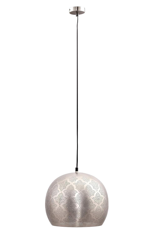 Muy Marroquí Lamparilla Farola Para Una Oriental Excelente Techo Rayhana Práctica Iluminación 30cm Colgante De Lámpara Plateado Jc1FK3Tl