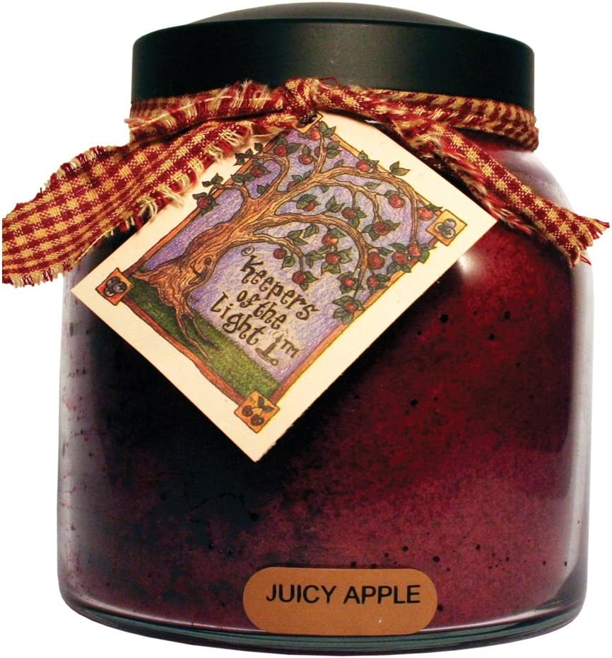 A Cheerful Giver Juicy Apple 34 oz. Papa Jar Candle, 34oz