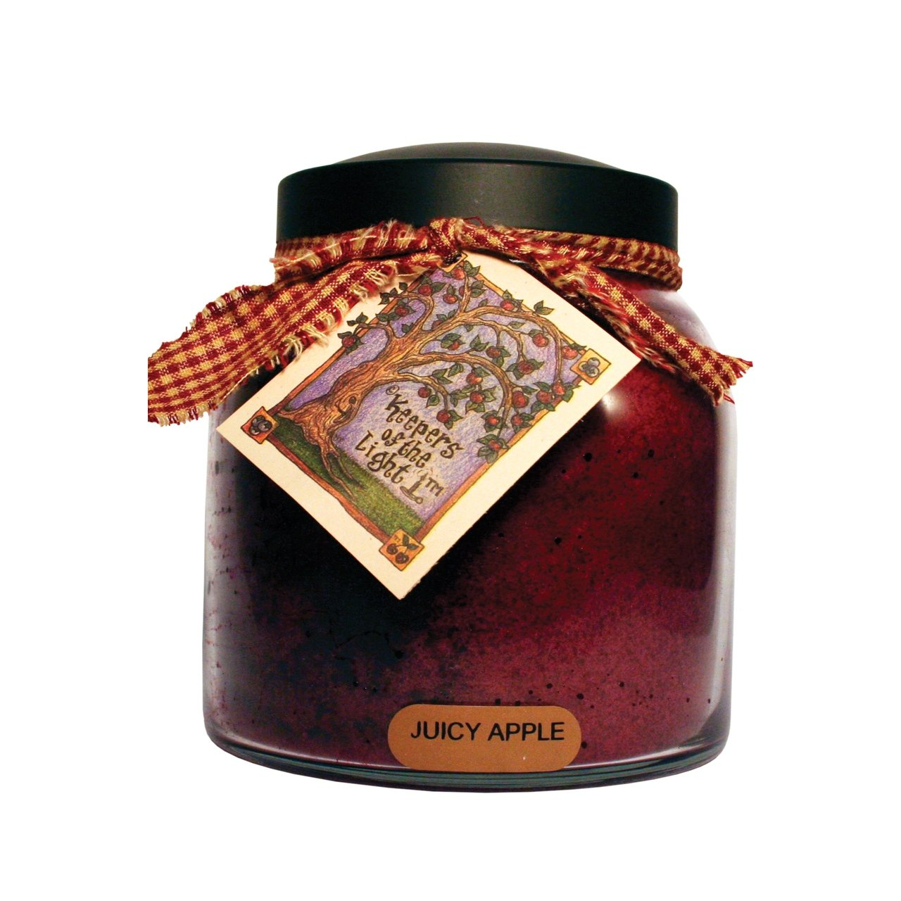 A Cheerful Giver Juicy Apple Papa Jar Candle, 34-Ounce