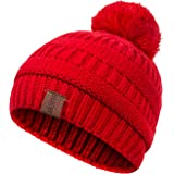 5b2c9b352b2 C.C Kids Beanie Ages 2-7 Warm Chunky Thick Stretchy Knit Slouch ...