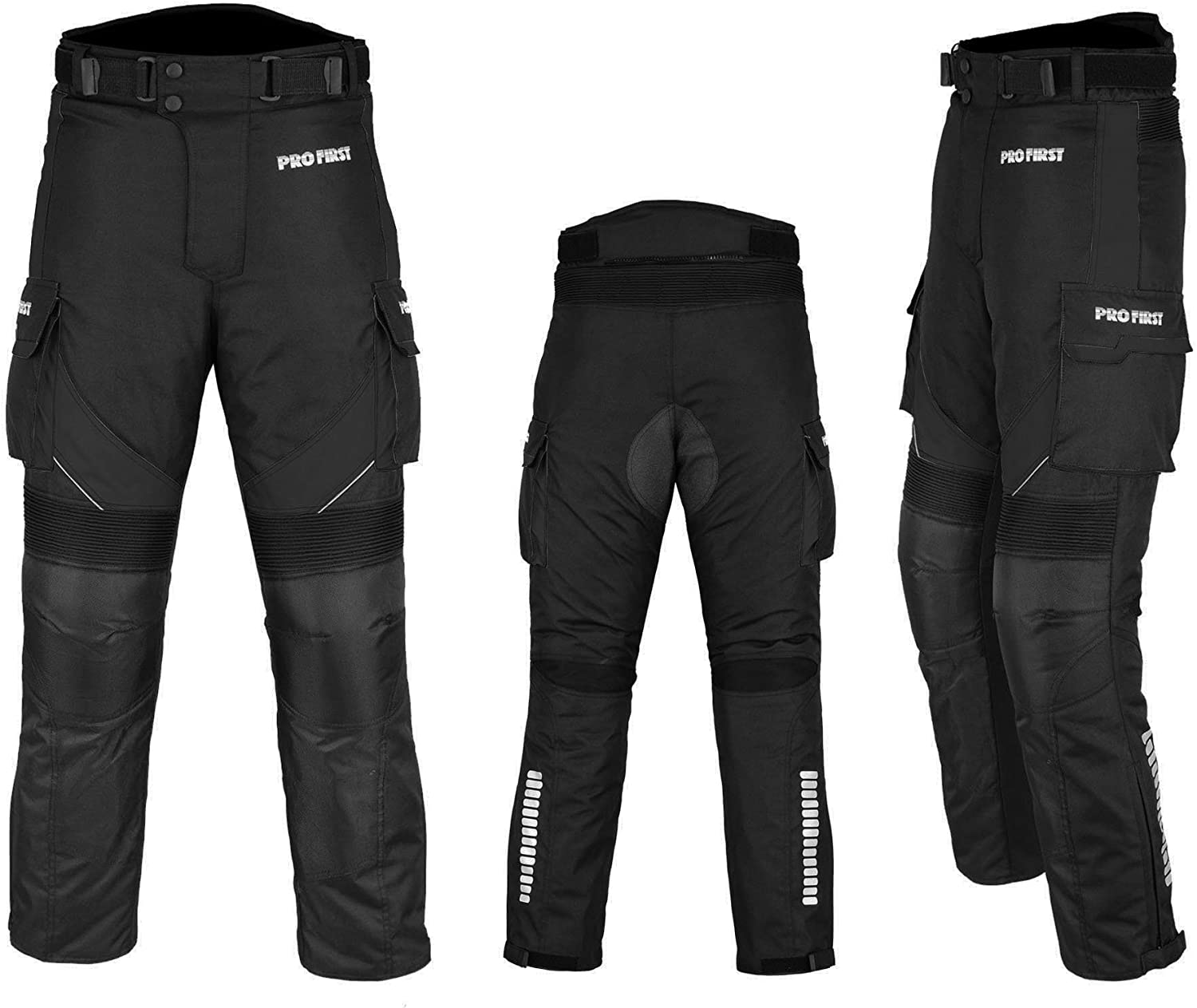 "Racing Touring Event- Gloves Balaclava Trouser A Full Set of Waterproof Motorbike Motorcycle Moped 2 Piece Suit in Cardura Fabric and CE Approved Armor Blue /–3XL-29/"" Leg Boots Jacket"