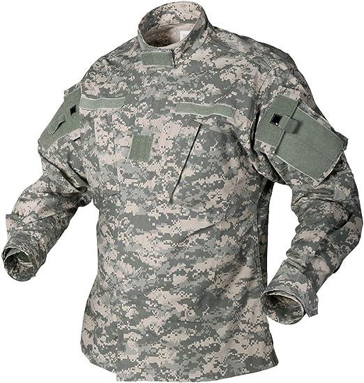 US ARMY Uniform ACU Combat Field Jacket// Hemd Large Regular Digital