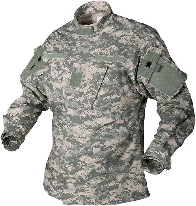ACU Ripstop Army Combat Trousers Mens US Uniform Pants UCP Digital Camo S-XXL