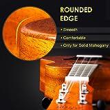 Ukulele Solid Mahogany 23 Inch Concert Uke With
