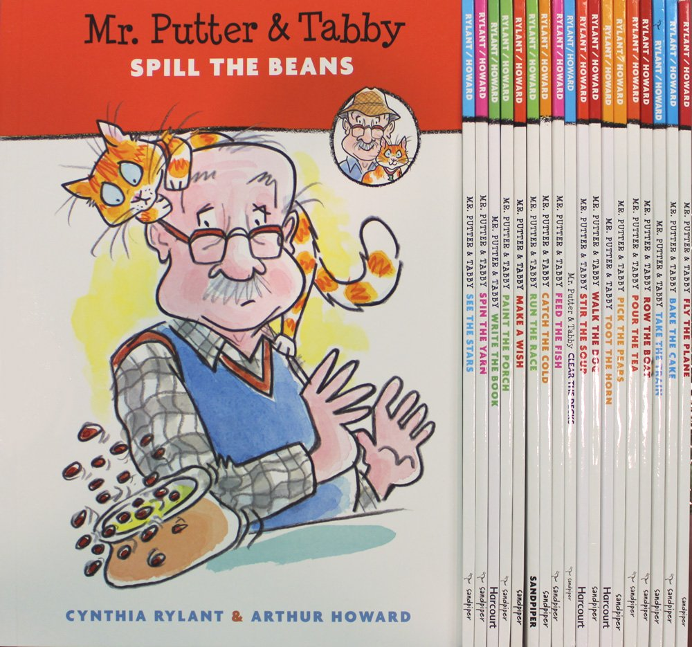 Mr. Putter & Tabby 19 Book Collection (Mr. Putty & Tabby: Bake the Cake, Fly the Plane, Pick the Pears, Pour the Tea, Row the Boat, Take the Train, Toot the Horn, Walk the Dog, Stir the Soup, Make a Wish, Catch the Cold, Feed the Fish,...) (Mr. Putter and