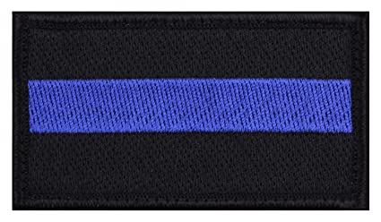 Image Unavailable. Image not available for. Color  Rothco Thin Blue Line  Patch 0c91f99b11b
