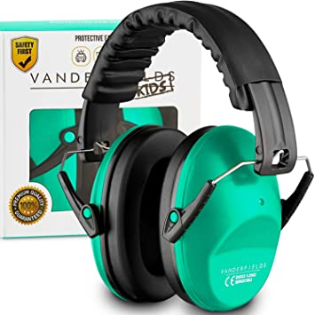 Ear Defenders Hearing Protection Eramuffs Kids Toddlers Babies Turquoise Touch