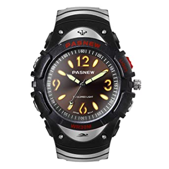 Amazon.com: HIwatch - Reloj de pulsera analógico de cuarzo ...