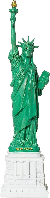 "Artisan Owl Statue of Liberty New York City 10.5"" Landmark Replica Statue Souvenir"