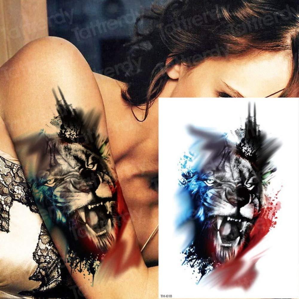 3 Piezas Tatuaje Brazo Espalda Tatuaje Manga Mujer Tatuaje Hombre ...