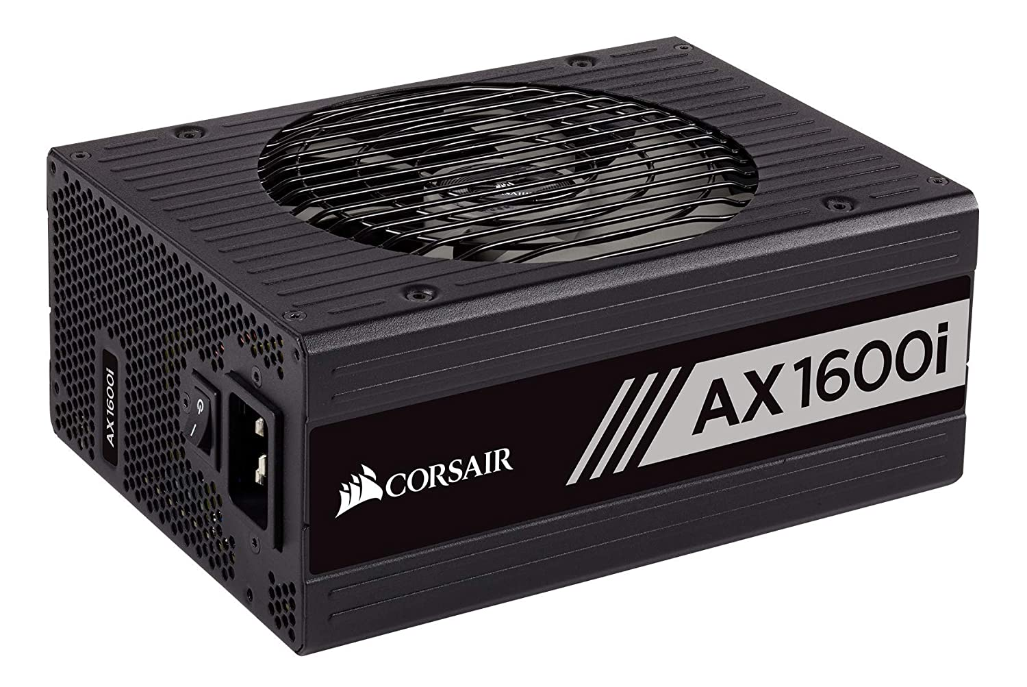 CORSAIR AXi Series, AX1600i, 1600 Watt, 80+ Titanium Certified, Fully Modular - Digital Power Supply