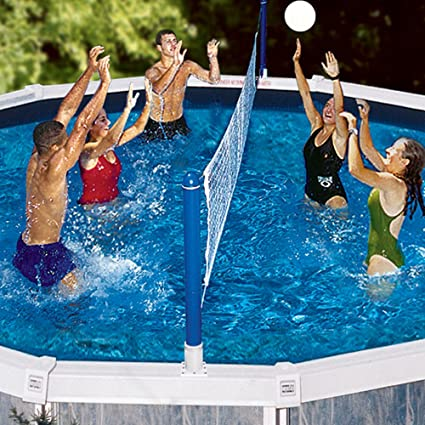 Amazon.com: Set de voleibol para piscinas: Toys & Games