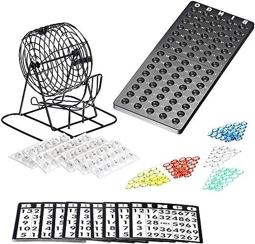 Juego de máquina de lotería de Bingo. Bolas de Metal |75 tazones ...