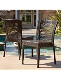 best selling dawn outdoor wicker chairs set of 2