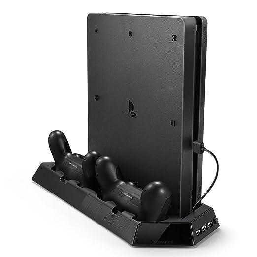 78 opinioni per Rixow PS4 Pro Doppia Stazione Ricarica Controller con doppia Ventola Di
