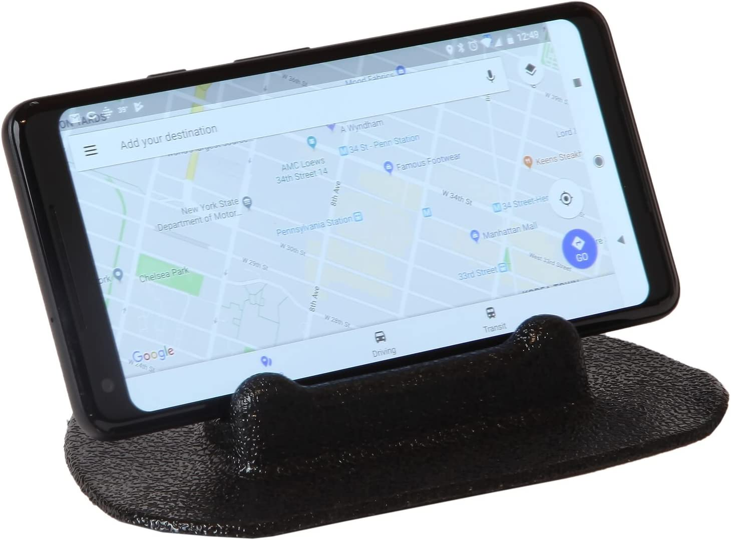 Trenton Gifts Dash Board Stand for Smartphone or GPS Easy Rubber Grip