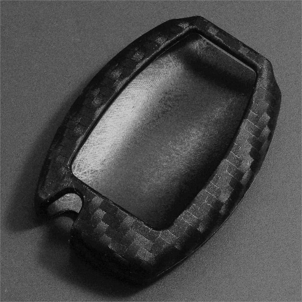 Without Keychain VENTDOUCE Funda Protectora para Llave de Coche de Fibra de Carbono para Mercedes Benz BGA AMG W203 W210 W211 W124 W202 W204 W205 W212 W176