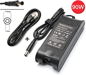 90W 4.62A 19V Ac Adapter Laptop Charger for Dell Latitude E5440 E5540 E6330 E6440 E6430 E6510 E6530 E7240 Dell Inspiron 15-7537 15-7547 15-7548 15-N5030 15-N5040 Notebook Power Supply Cord Plug