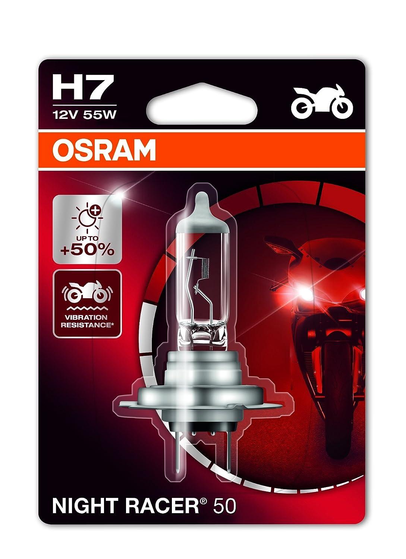 Motorrad-Scheinwerferlampe Doppelblister 64210NR1-02B Osram NIGHT RACER 110 H7 12V