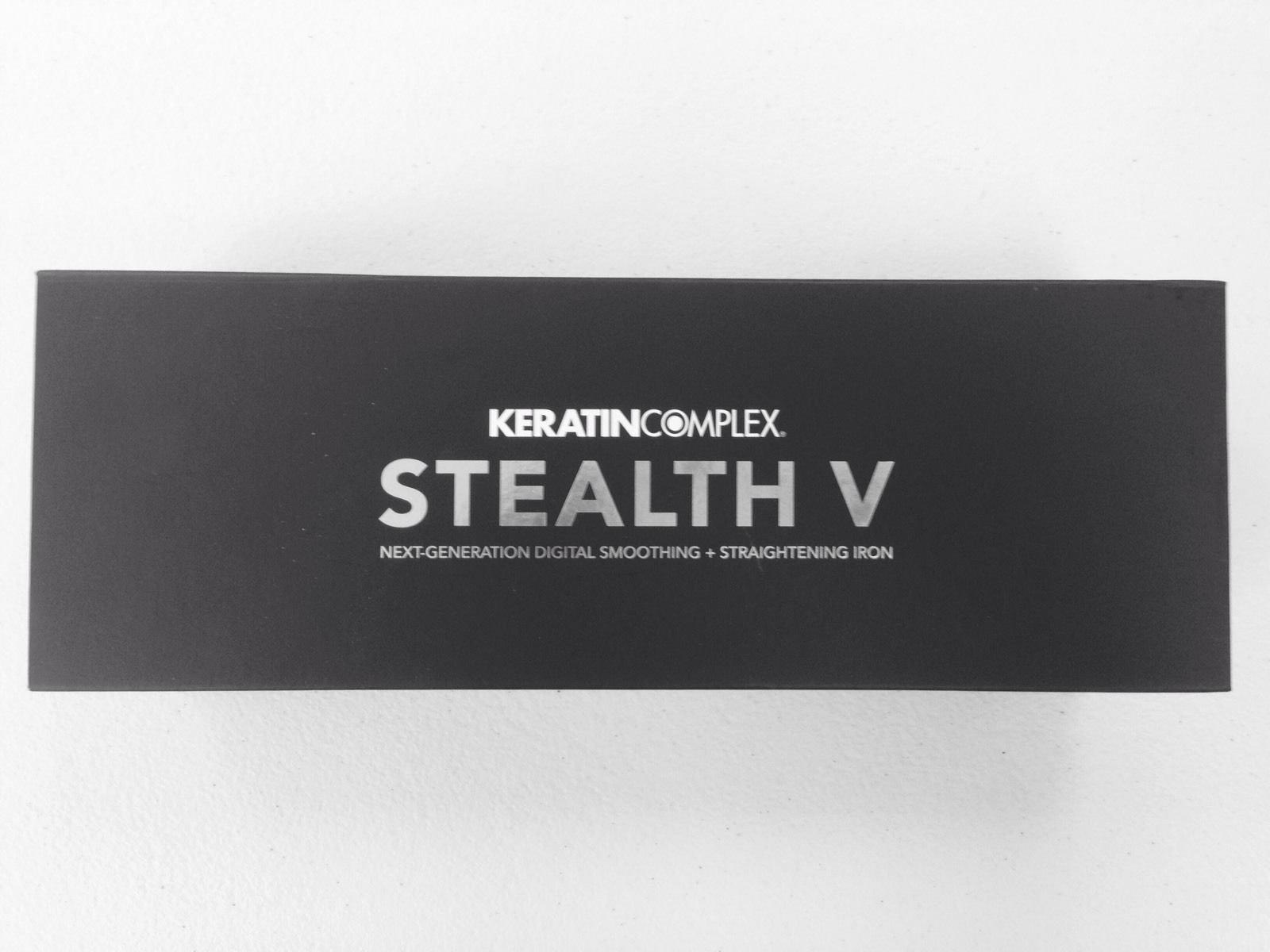Keratin Complex Stealth V Digital Smoothing and Straightening Iron
