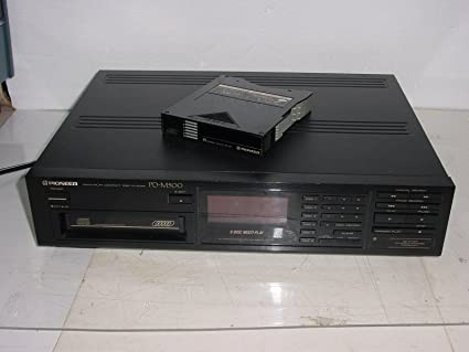 Amazon Vintage Pioneer PD M500 6 CD Compact Disc Changer Player System W Remote 1988s Japan Musical Instruments