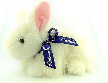 Amazon unique easter gift clucking white fur cadbury bunny unique easter gift clucking white fur cadbury bunny rabbit collectible plush stuffed animal toy negle Choice Image