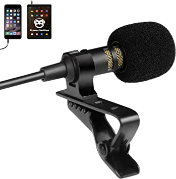 clip on mic for mobile phone