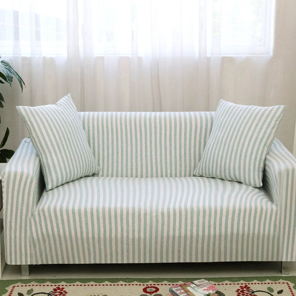 Stretch sofá cubre telas de algodón tejidas no-Slip ...