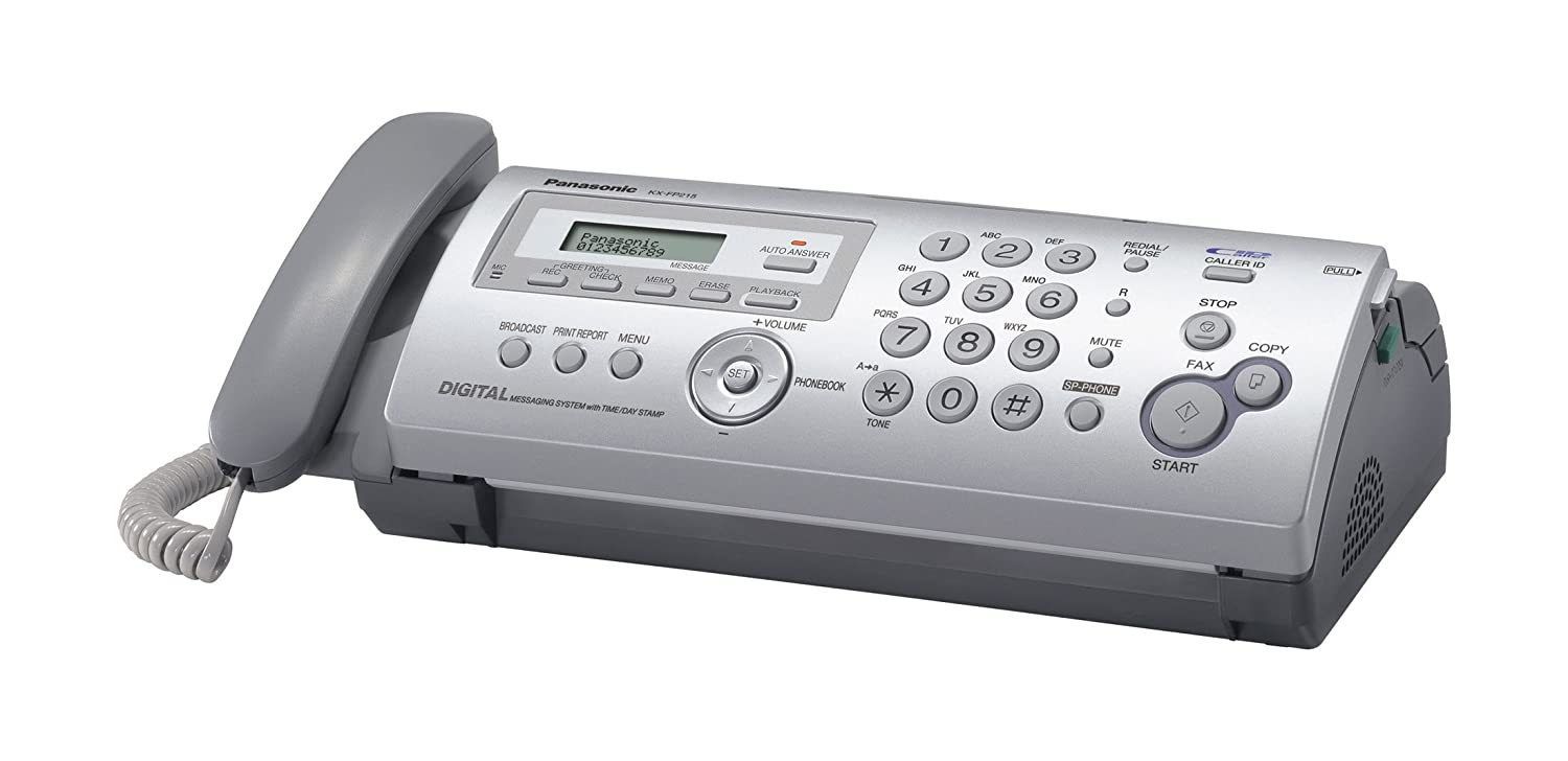 Amazon Compact Plain Paper Faxcopier With Answering System