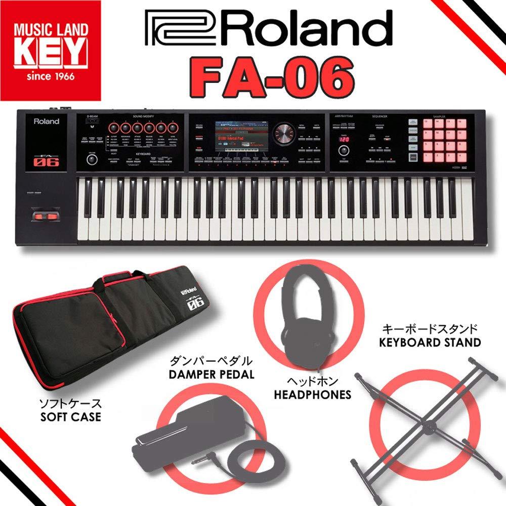 Roland ローランド ミュージックワークステーション FA-06 【MUSICLAND KEYオリジナルスターターセット】   B07K8JYYP8