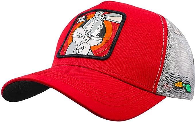 Collabs Gorra Looney Toons Bugs Bunny Trucker Roja (Talla única ...