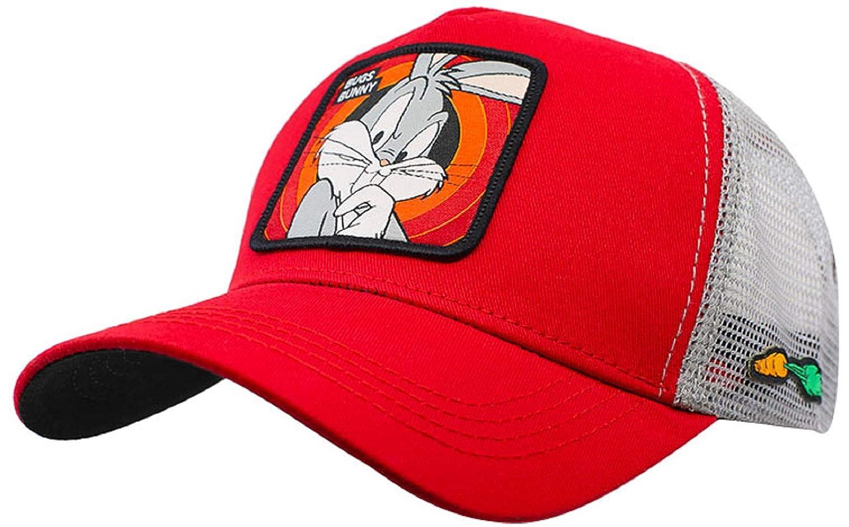 Collabs Gorra Looney Toons Bugs Bunny Trucker Roja (Talla única para Todos sexos) ...: Amazon.es: Ropa y accesorios