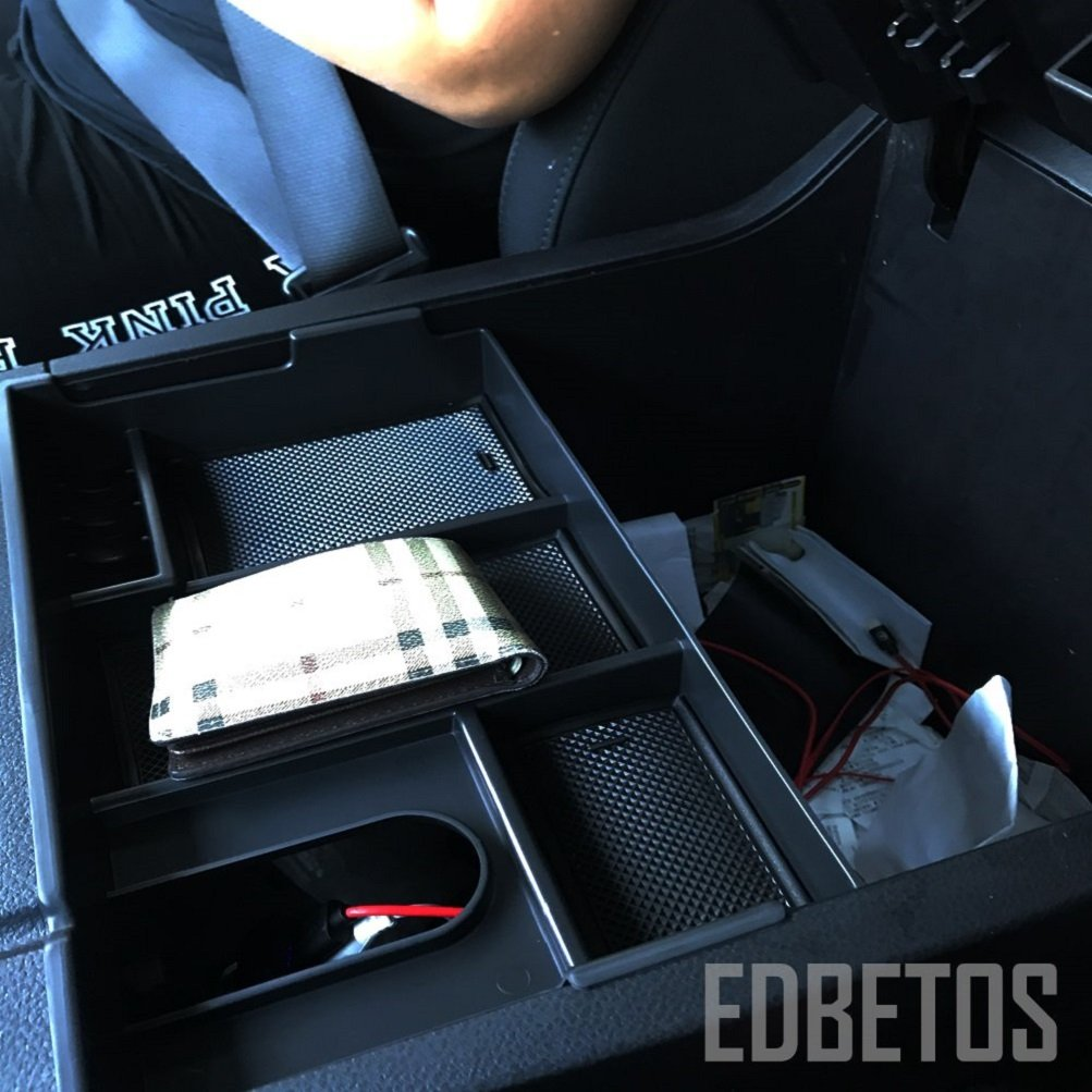 EDBETOS Car Center Console Organizer Insert Tray for Toyota Tundra 2007-2019 Car Organizer Armrest Box Glove Box for Toyota Sequoia 2008-2019