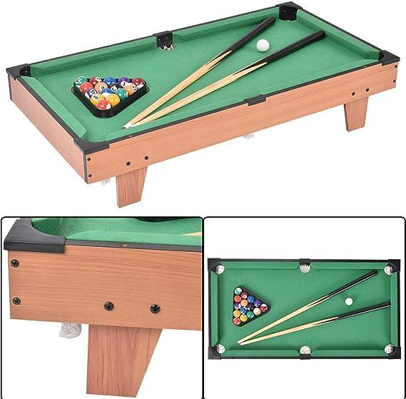 3 en 1 Multi Juego Tenis de mesa, aire con diseño de billar y mesa ...