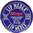 Blistex Lip Medex External Analgesic/Lip Protectant 0.25 oz (Pack of 6)