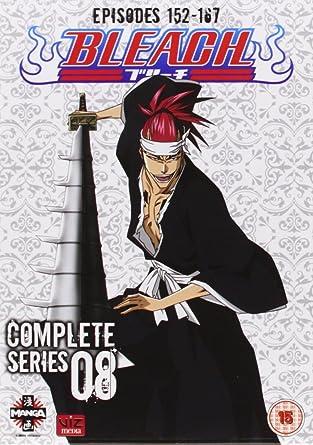 Amazoncom Bleach Complete Series 8 Episodes 152 167 Dvd